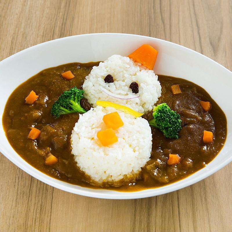雪室野菜の雪だるまカレー