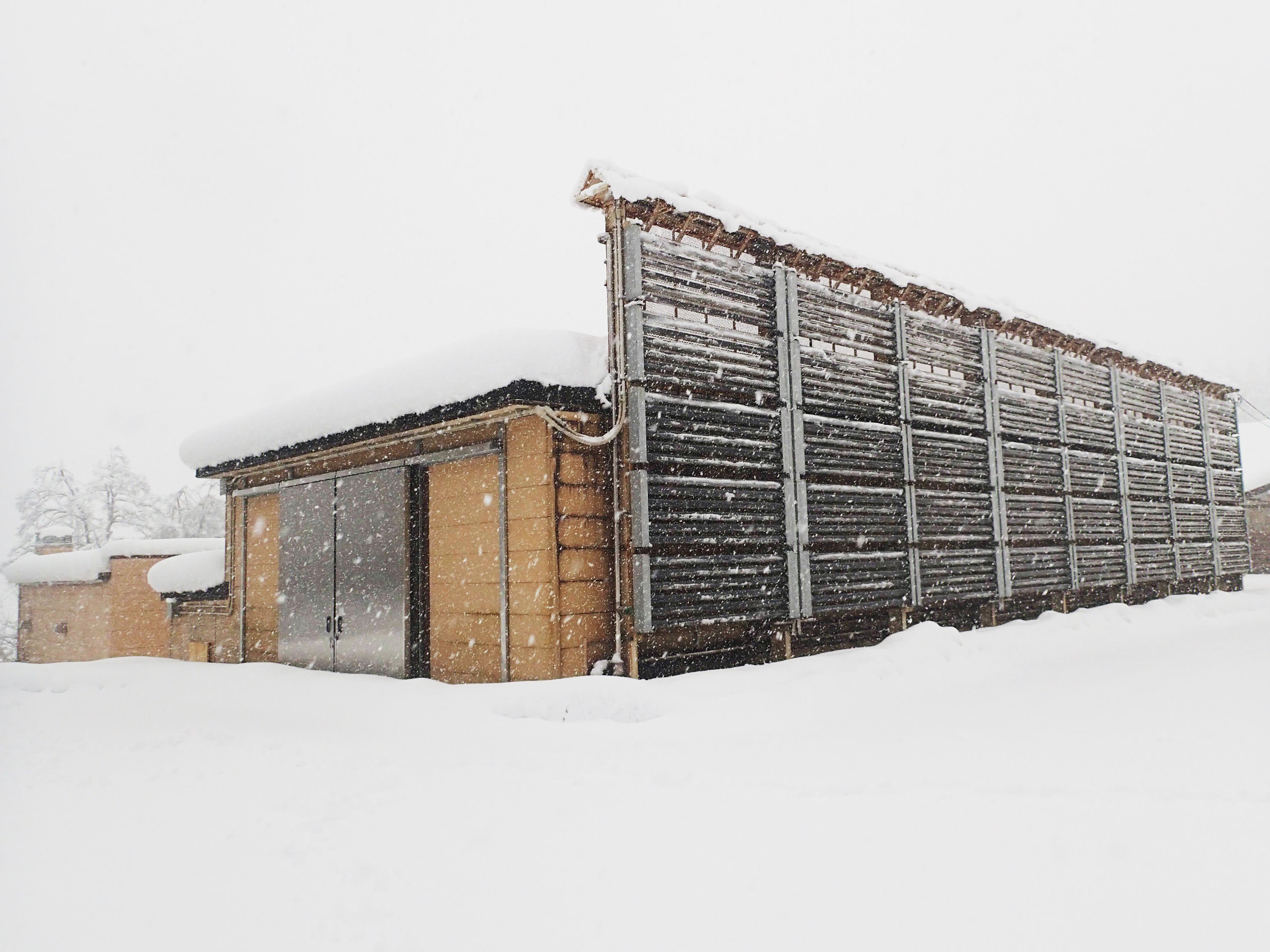 上越市 和田の雪室