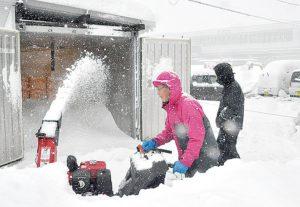 コンテナ型 駅前雪室