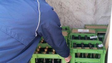 駅前貯蔵プロジェクト 雪中貯蔵酒販売開始